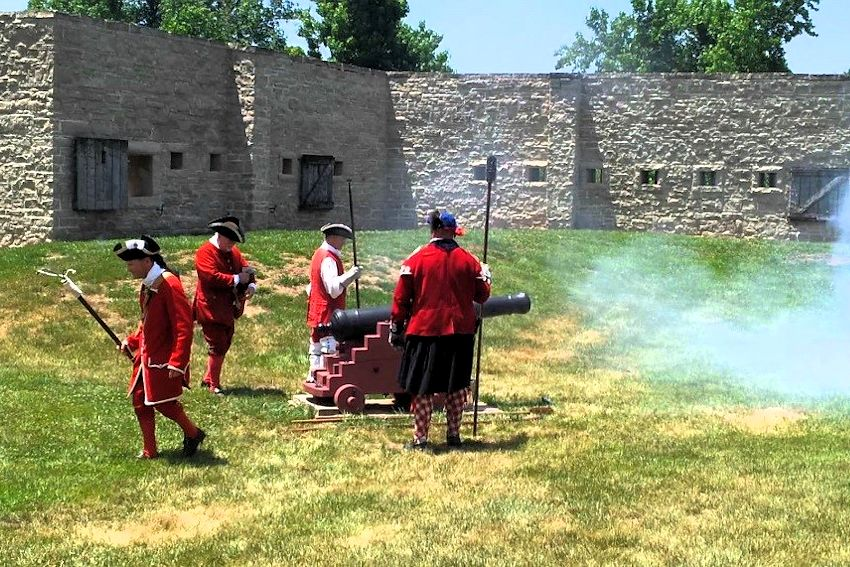 Fort de Chartres Muzzle Loading Black Powder Artillery Safety