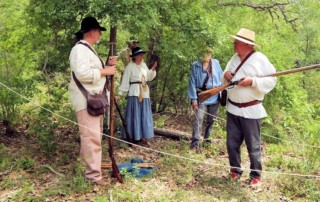 Fritztown Free Trappers Spring Rendezvous - Nagelmueller Ranch - White Smoke Company of Buckskinners