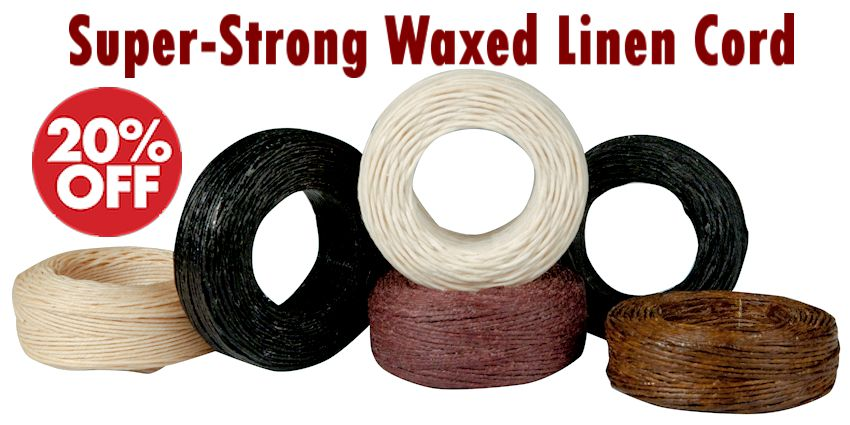 Super Strong Waxed Linen Cord Crow Calls Sale