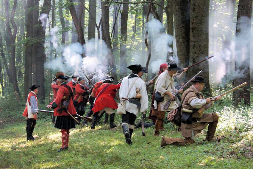 Battle of Bushy Run Reenactment - Bushy Run Battlefield - Bushy Run Heritage Society