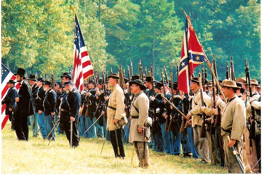 Battle of Tunnel Hill Reenactment Gallery