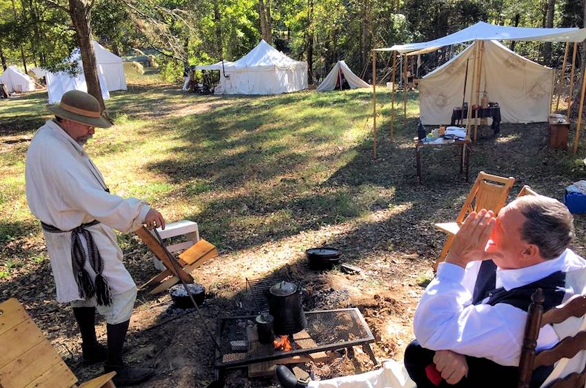 Cold Foot Camp on The Hill at Fairfield Plantation - Fairfield Plantation Rendezvous on The Hill