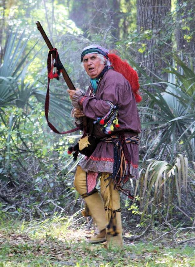 Fort Cooper Days Seminole War Reenactment
