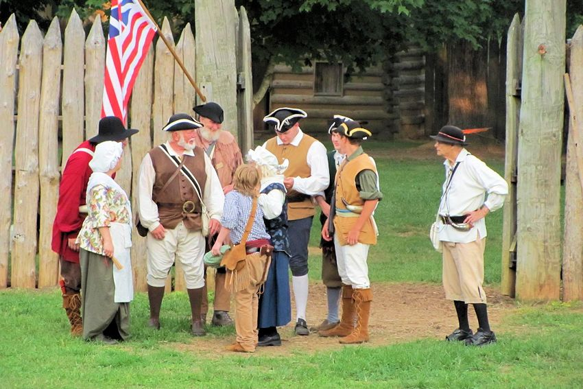 Independence on the Frontier-Militia Muster at Fort Watauga