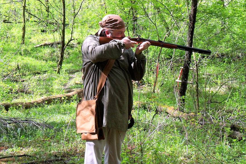 Spring Thaw Rendezvous - Ball and Arrow Primitive Weapons Club