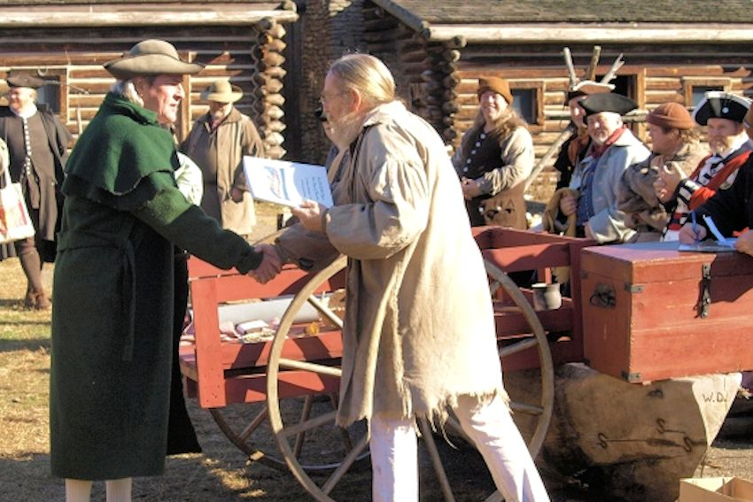 Spring Trade Days at Fort Boonesborough
