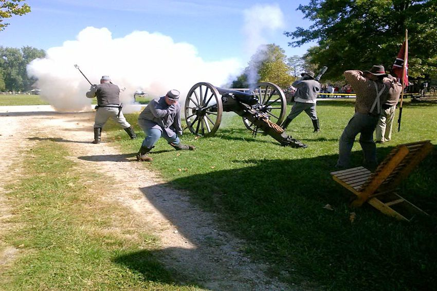 Civil War at Caesars Creek Pioneer Village