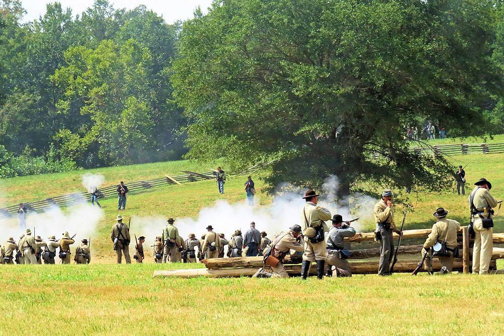 Battle of Bost Grist Mill Reenactment Gallery