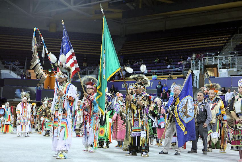 First Nations at UW Spring Powwow - First Nations at the University of Washington Powwow - Alaska Airlines Arena at Hec Ed Pavilion
