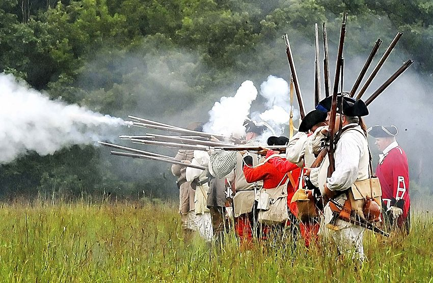 Fort Frederick French and Indian War Muster
