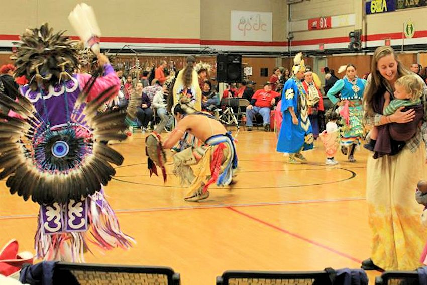 MCNAA National Native American Heritage Day Pow-Wow - Bridgewater State University Kelly Gymnasium - Mass Center for Native American Awareness