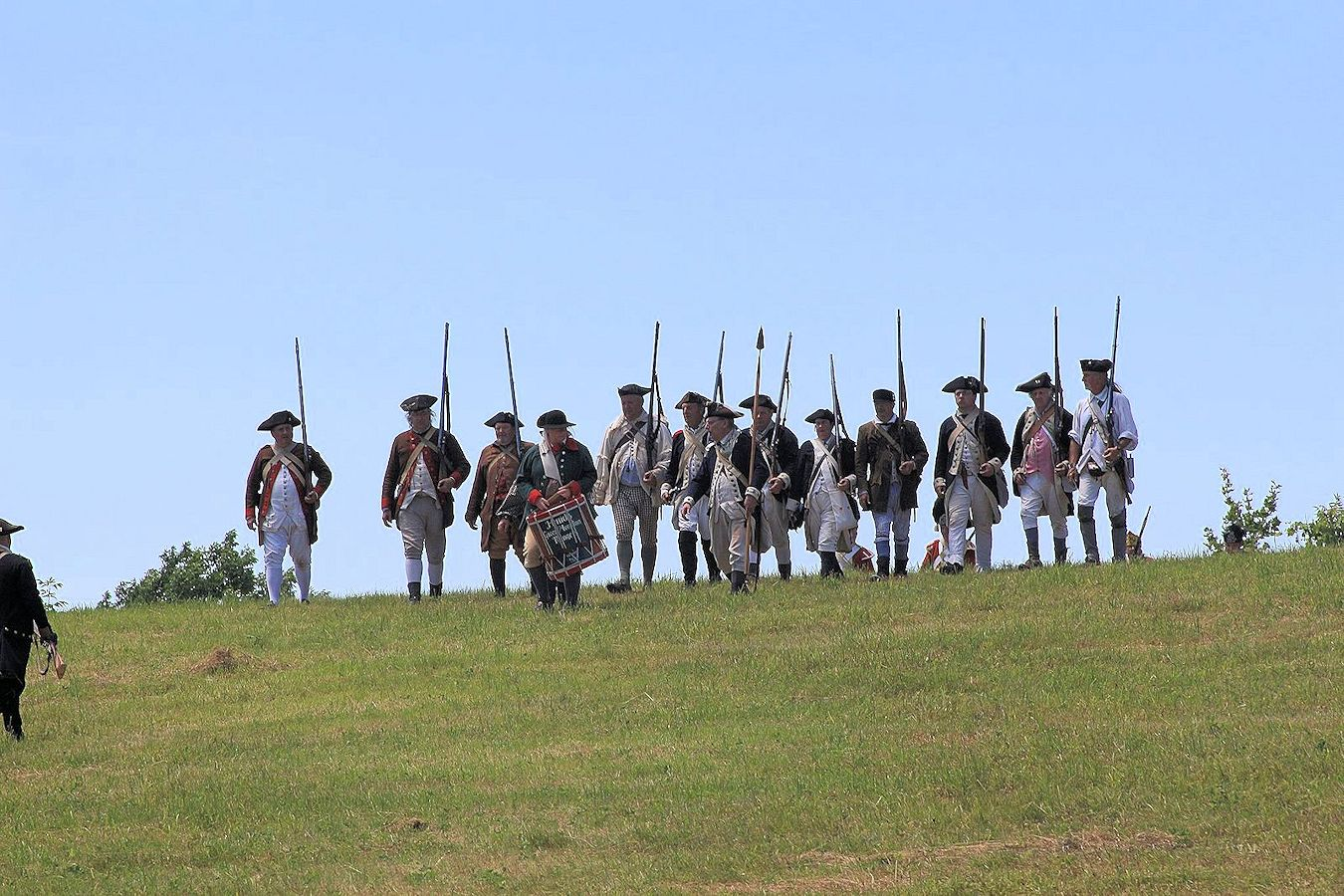 2019 Battle of Hubbardton Revolutionary War Encampment Weekend