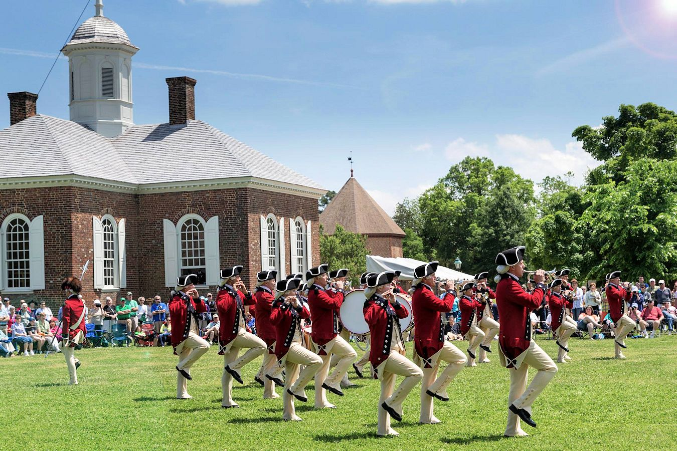 Drummers Call at Colonial Williamsburg