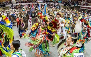 Kyiyo Pow Wow - Kyiyo Native American Student Association - Adams Center in Missoula, Montana
