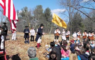 Paul Revere Capture Ceremony - Minute Man National Historic Park Massachusetts - Lincoln Minute Men