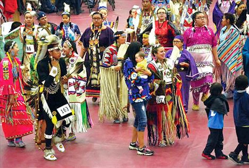 Salish Kootenai College Powwow and Graduate Honoring - Joe McDonald Health and Fitness Center in Pablo, Montana