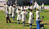 Fort Michilimackinac Reenactment Pageant