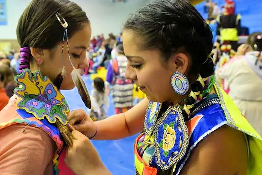 GFPS Youth Powwow - Montana ExpoPark Exhibition Hall -interTRIBAL Strong