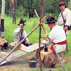 Great Folle-Avoine Fur Trade Rendezvous - Voyageur Rendezvous