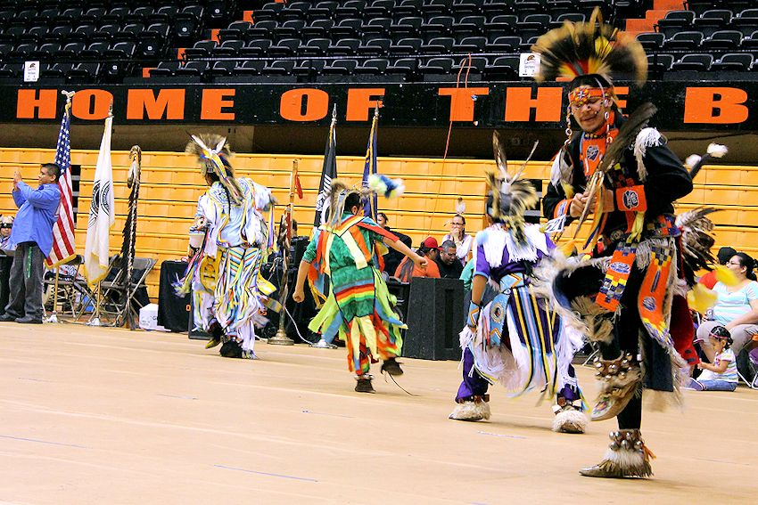 OSU Klatowa Eena Powwow - McAlexander Fieldhouse - Oregon State University Native American Student Association - OSU Native American Student Association