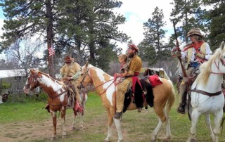 Uncompahgre Free Trappers Happy Canyon Rendezvous - Happy Canyon Rendezvous Site