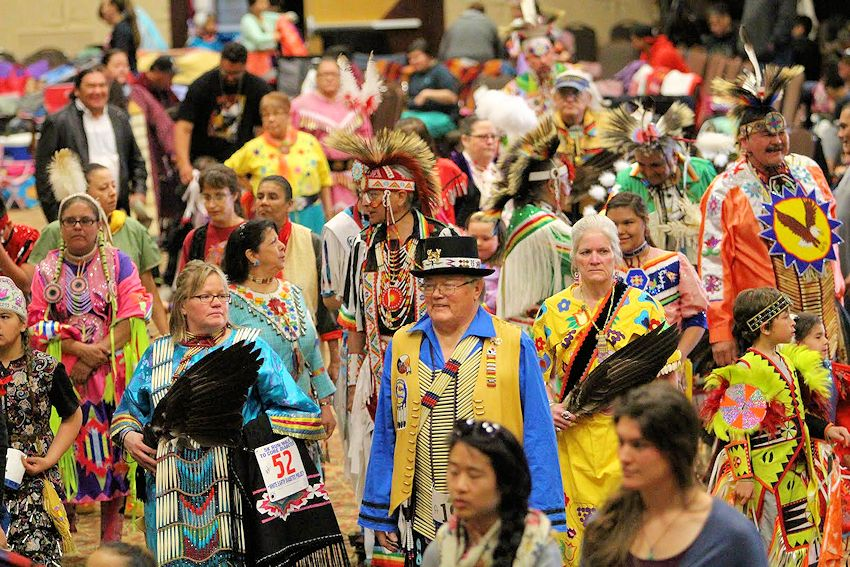 White Earth Mothers Day Powwow - Shooting Star Casino Event Center - White Earth Nation