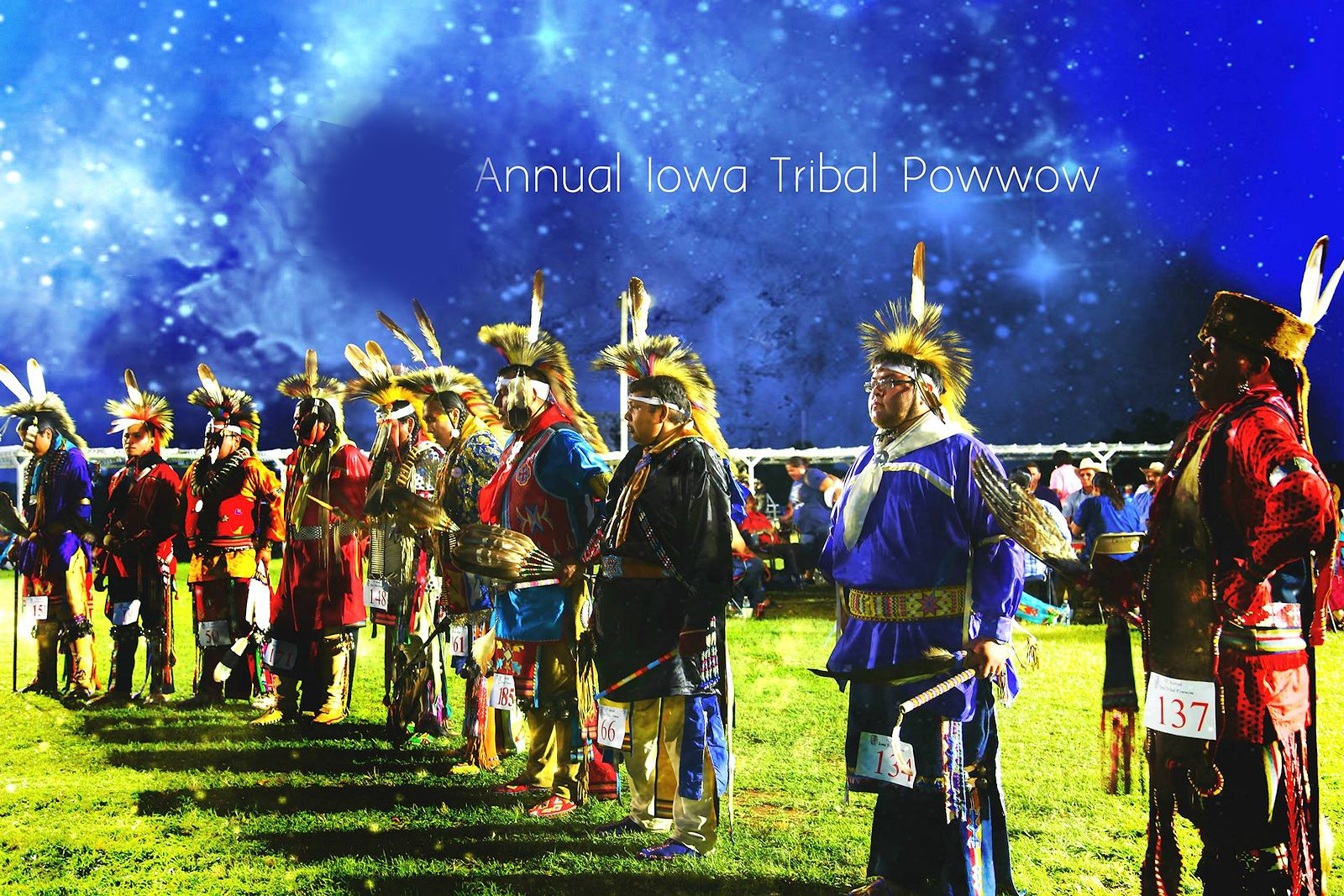 Iowa Tribal Powwow - Bah-Kho-Je Powwow Grounds - Iowa Tribe of Oklahoma
