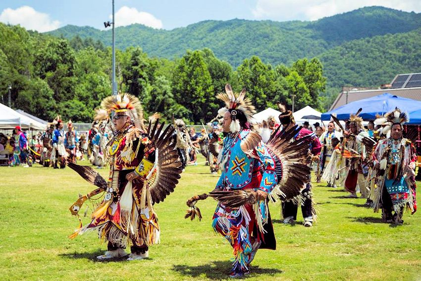 4th of July Eastern Band Cherokee Nation Powwow - Cherokee Acquoni Expo Center