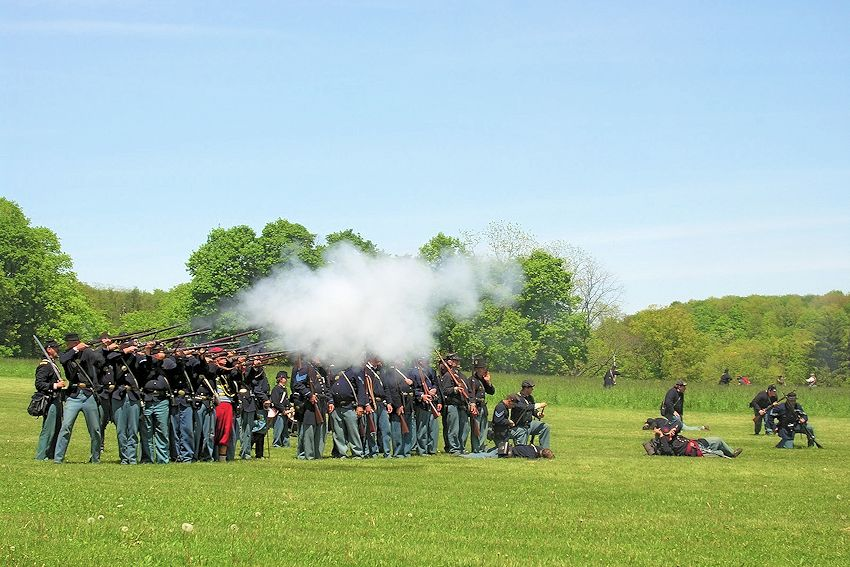 Century Village Museum Civil War Reenactment - Geauga County Historical Society