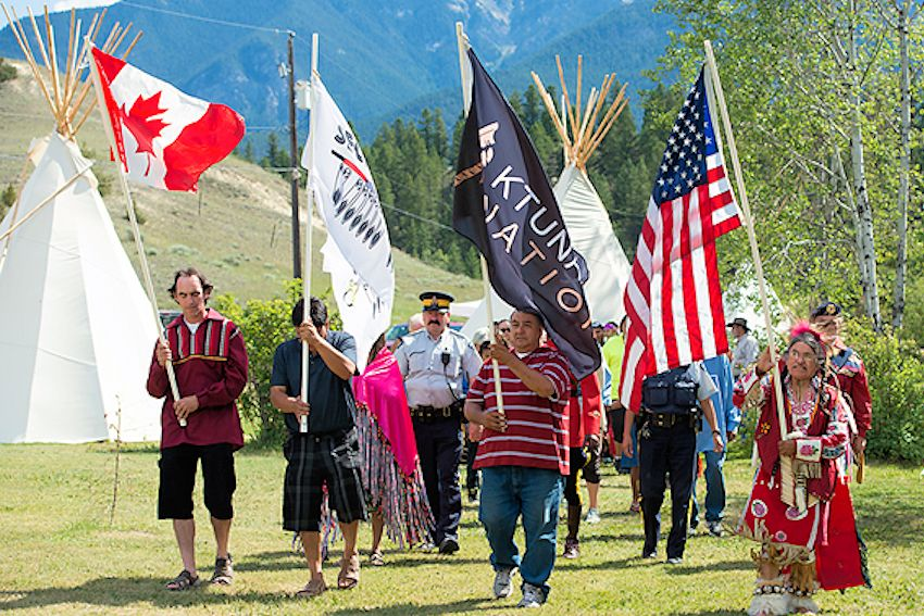 Kootenays National Aboriginal Day Festival - Lakeshore Resort and Campground - Akisqnuk First Nation