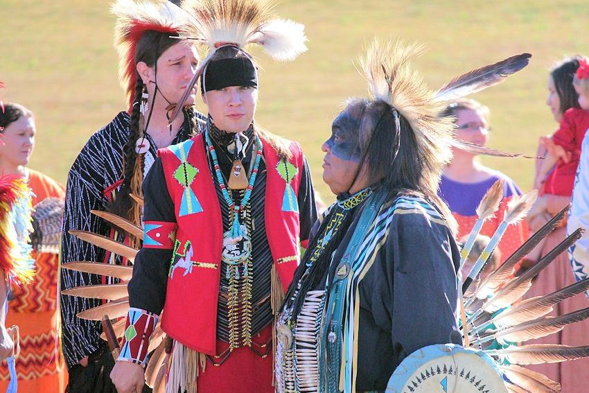 Ma-Chis Pow Wow at Troy State University - Troy University Campus - Ma-Chis Lower Creek Indian Tribe of Alabama