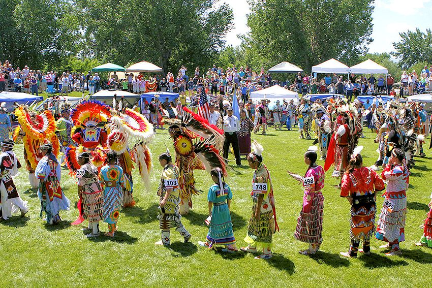 Plains Indian Museum Powwow - Robbie Powwow Garden at Buffalo Bill Center of the West