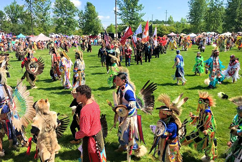 Rama Powwow - John Snake Memorial Multipurpose Grounds - Chippewas of Rama First Nation