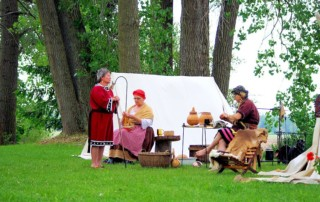 Beginners Living History Rendezvous - Seven Eagles Historical Education Center - Arts Council Lake Erie West (ACLEW)