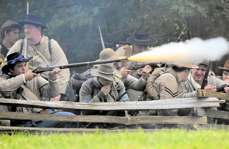 Lake County Forest Preserves Civil War Days in Wauconda - Wauconda Civil War Days