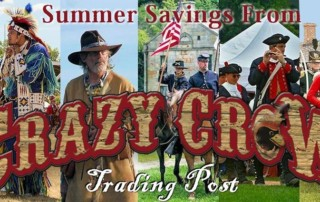E-News, Closeouts, Sale - July 25, 2017 - Crazy Crow Trading Post