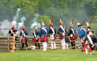 Battle of Bennington Reenactment