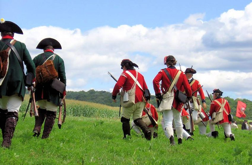 Battle of Bennington Reenactment - Bennington Battlefield - The Friends of the Bennington Battlefield - Brigade of the American Revolution