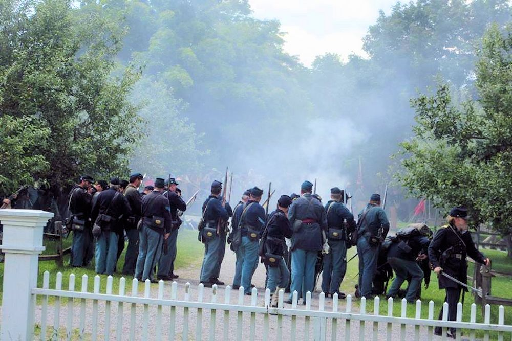 2019 Civil War Weekend at Museum Village | Monroe NY Living History