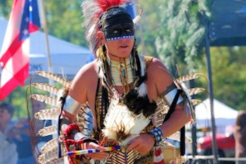 Red Eagle Village Pow Wow - Heritage Park in McDonald Pennslyvania