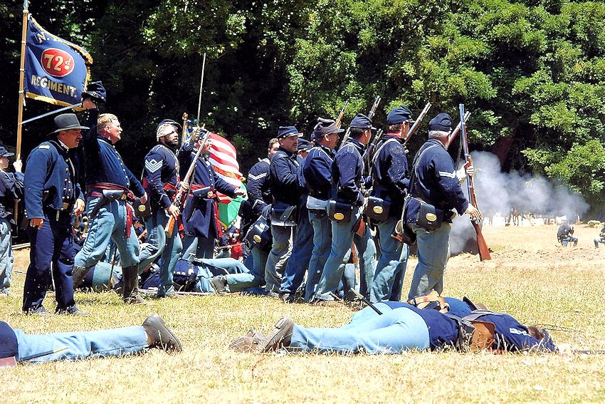 Marysville Civil War Days Reenactment - River Front Park - Reenactors of the American Civil War (RACW)