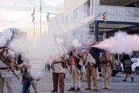 Revolutionary War Reenactors Relive History at the 1st and 2nd Battles of Trenton
