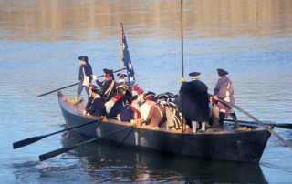 Washington Christmas Day Crossing Reenactment - Washington Crossing Reenactment Dress Rehearsal - Friends of Washington Crossing Park - Washington Crossing Historic Park