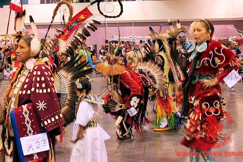 Yuba-Sutter Winter Pow Wow - Allyn Scott Youth Civic Center - Maysville Joint Unified School District American Indian Education Program