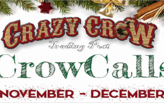 Crazy Crow Trading Post eNews & Specials November 3 2017