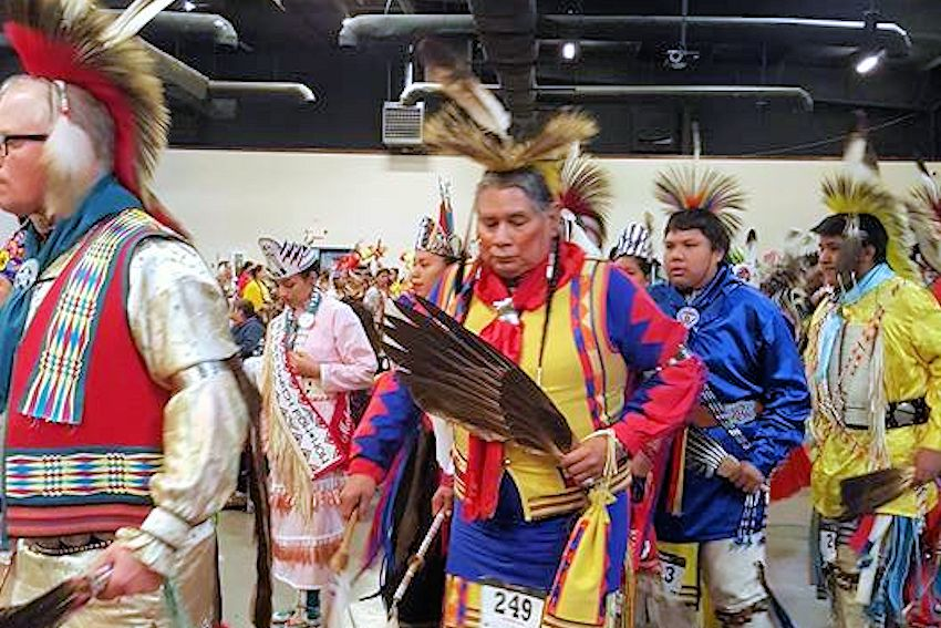 OKC Pow Wow Club & Tulsa Pow Wow Club New Years Dance - OKC Pow Wow Club and Tulsa Pow Wow Club New Years Dance - Oklahoma Pow Wow Club - Tulsa Indian Club - UCO Hamilton Field House