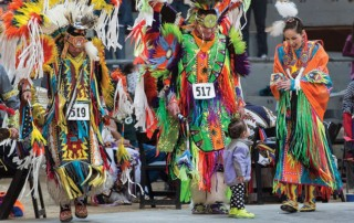 On Wisconsin Spring Powwow - Alliant Energy Center Arena - UW-Madison American Indian Student Organization Wunk Sheek
