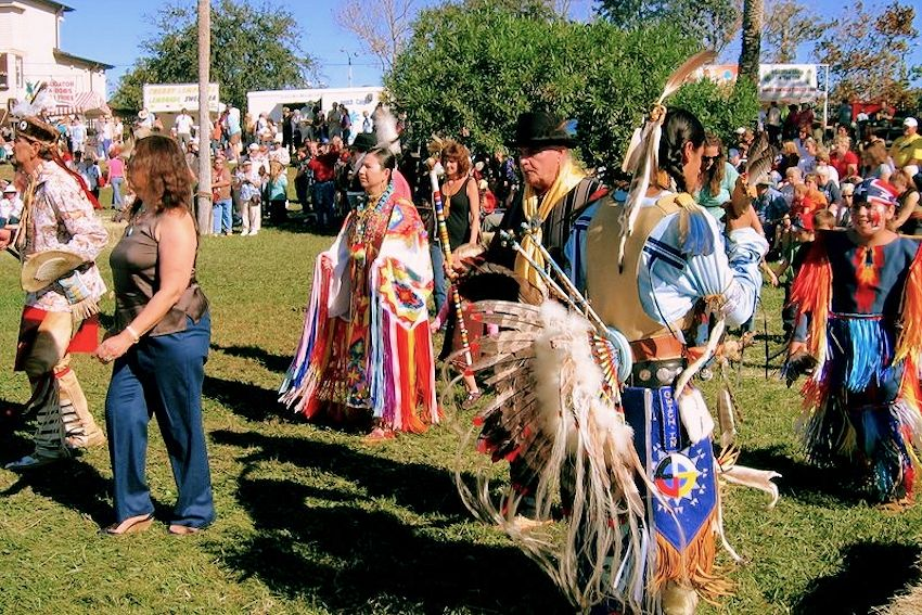 Ormond Beach Native American Festival - The Casements - City of Ormond Beach Department of Leisure Services - Deep Forest Native American Experience - Jim Sawgrass