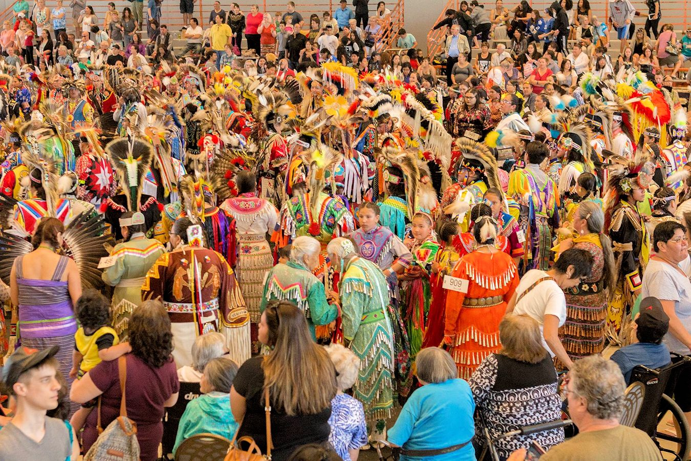 2019 Manito Ahbee International Pow Wow Rbc Convention