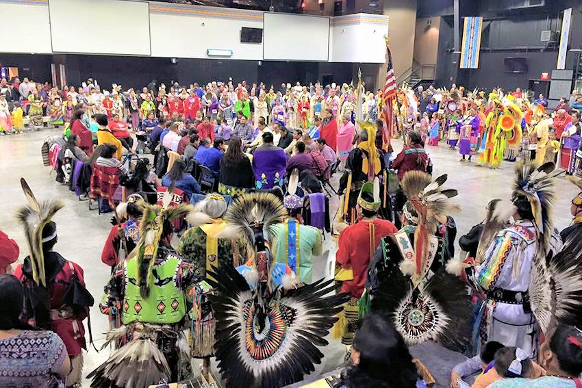 Otoe-Missouria Winter Encampment - 7 Clans First Council Event Center - Otoe-Missouria Tribe of Indians